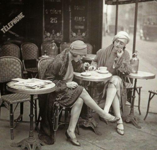 Possibly Solita Solano and Djuna Barnes, Maurice Branger 1922